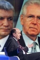 Pier Luigi Bersani con Mario Monti e Nichi Vendola (blizquotidiano.it)