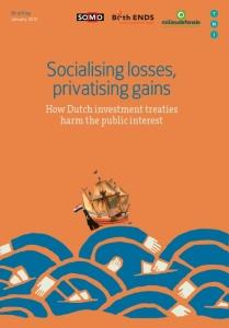 Socialising losses, privatising gains.