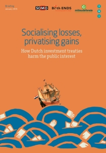 Socialising losses, privatising gains.