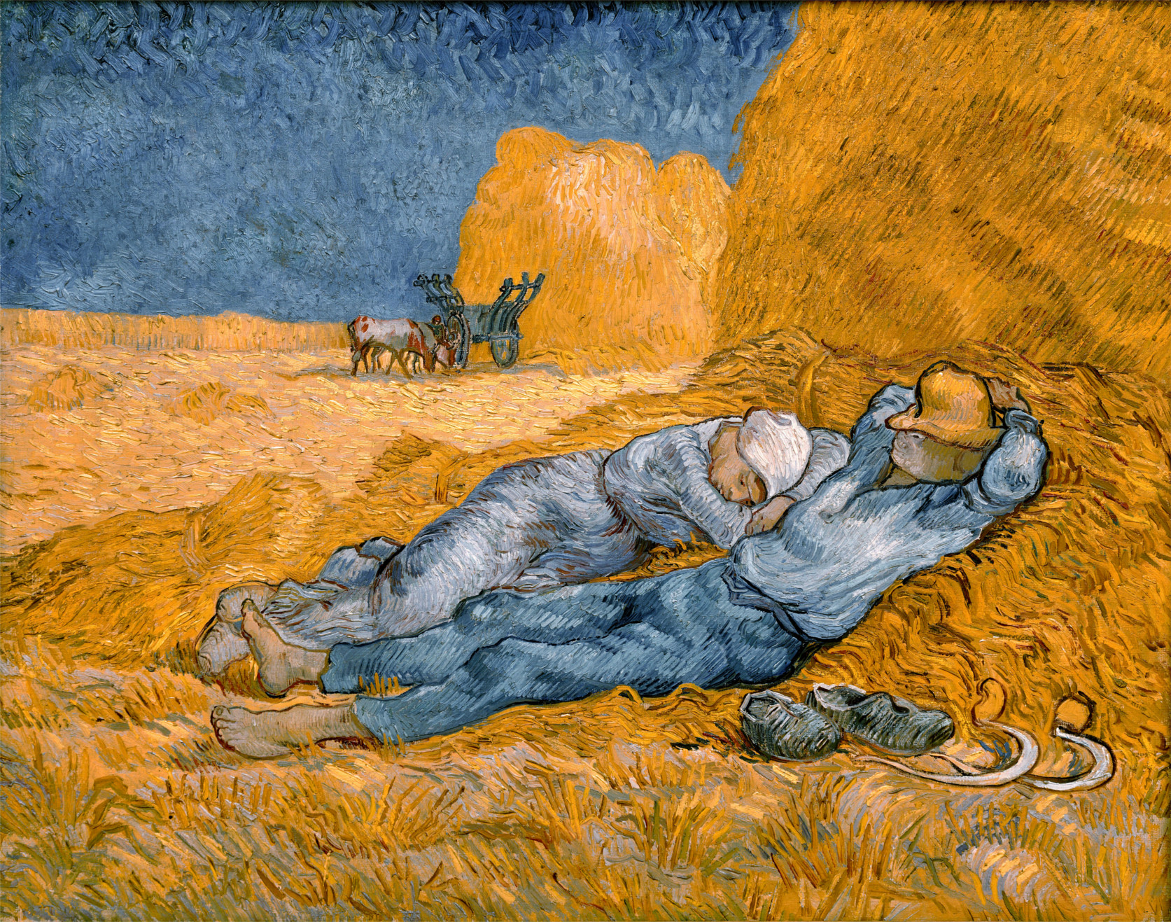 Mezzogiorno-Riposo-dal-lavoro-Van-Gogh-analisi